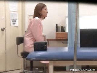 sexually excited doctor teasing his hawt oriental