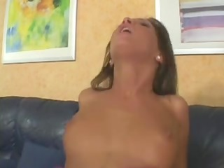 lauryn may double penetration creampie