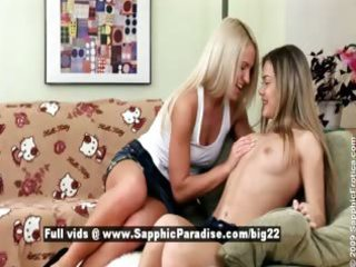 ingrid and ivanka from sapphic erotica lesbian