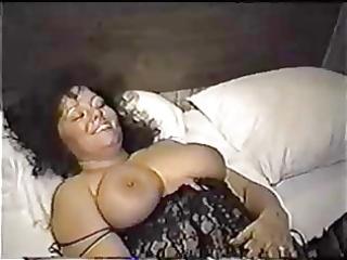 non-professional large butt wife enjoying trio