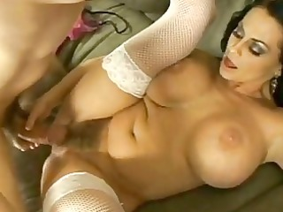 gigantic breasted harley raines acquires rammed