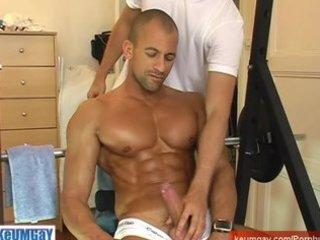 breno: sport lad acquire wanked his massive jock !