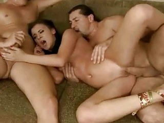 dark brown receives anal drilled by mature boys