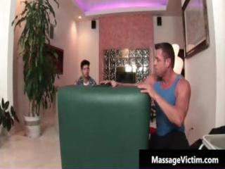 hawt and lewd man receives the massage part3