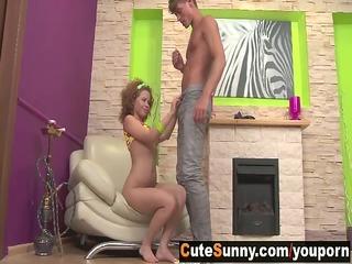 38 y.o. cute sunny screwed by her boyfriend