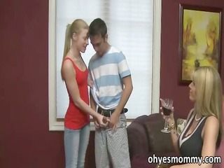 hot and concupiscent stepmom says she is can not
