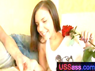 long-haired brunette hair youngster acquires her
