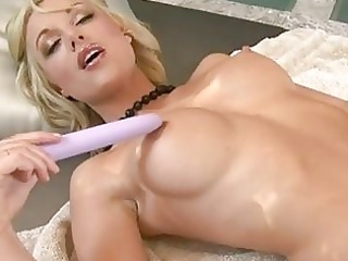 lusty bald kayden kross toying on her pink bawdy