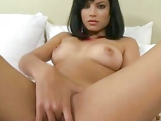 sofia brunette hair solo angel with natural love