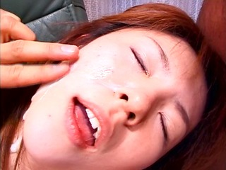 she is takes a load in her face and keeps fucking