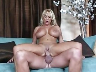large titted tart holly halston acquires a lump