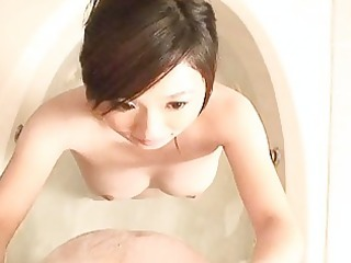 japanese babe ends up with a valuable spunk