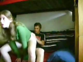 non-professional girlfriend rides backwards