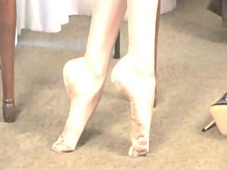 outstanding nylon feet
