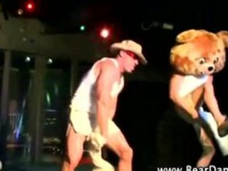 hunter stripper at cfnm party