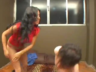 young &, angry mistress bitch slaps her