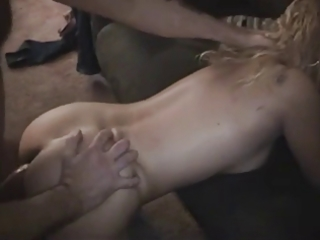 a5nyc sexy honey acquires double teamed