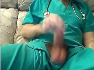 spanish doctor jerks off