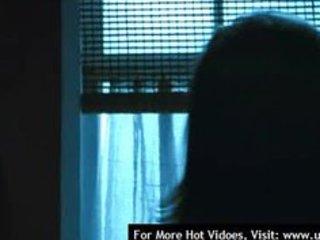 janet montgomery undressed in movie scene the