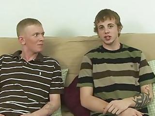 cute homosexual twink copulates with str due