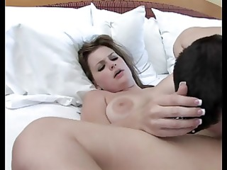 breasty beauty teasing outdoor and fucking indoor!