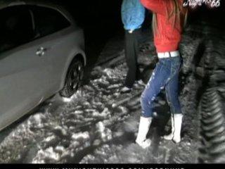 nightkiss27 - im schnee gefickt