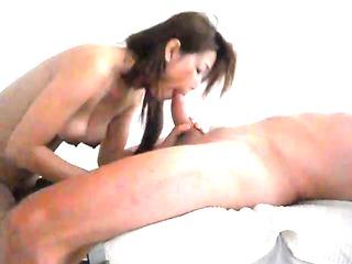 japanese massage oral-stimulation with cream
