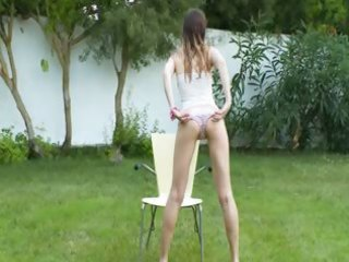 ivana legal age teenager getting moist on the