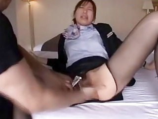 housekeeper getting her shaggy vagina licke ...