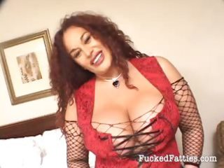 large breasted bulky hotty getting pounded by