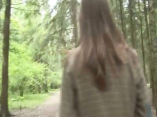 adventure blow job in the forest