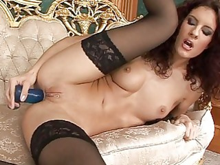 whores in nylons masturbate and finger solo