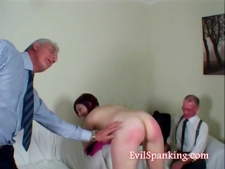 her butt is red but she is craves threesome