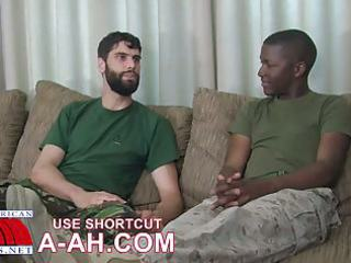 hawt military boys engulf eachother off