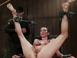 french gal tied and double permeated