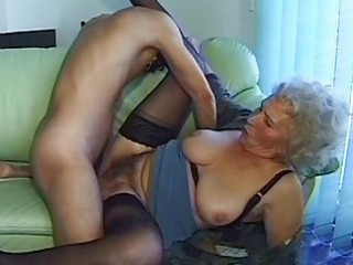 mad old mamma receives large dick
