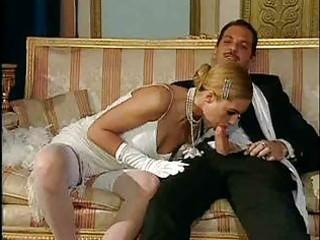 italian blonde diva has beautiful sex