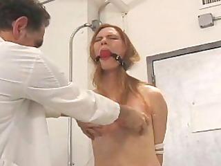 slow drubbing the woman