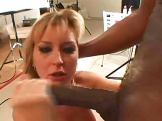breasty blond slapped with biggest knob