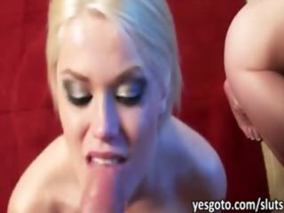 sexually excited ladies engulfing and fucking