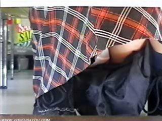 under of skirts pants captured