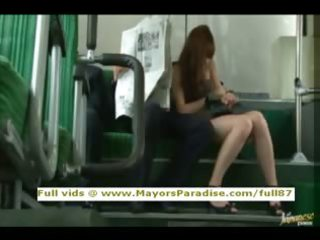 rio virginal chinese hotty is screwed on the bus