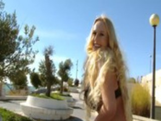 hawt chica outdoors masturbates after covering