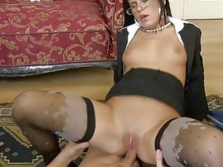 concupiscent secretary anal fuck