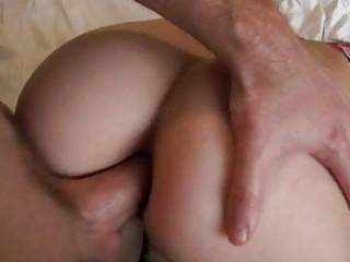 marvelous gf struggles on st anal sex