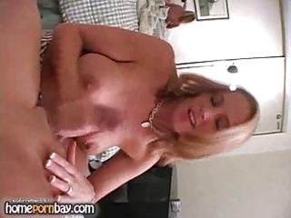 breasty golden-haired wife jerking jock 3