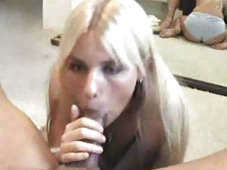 cum in her throat
