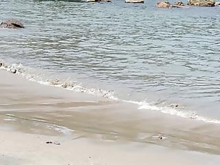 indian beauty on the beach 4