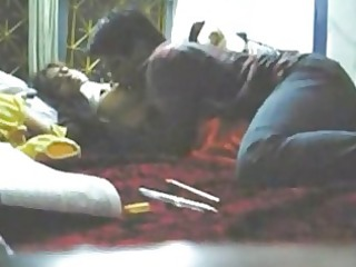 Indian college couples fucking hard in their room