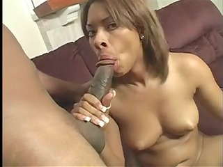 darksome gal undresses nude for steamy hardcore